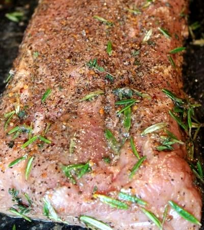 Muschi de porc legat