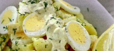 Salata delicioasa de oua