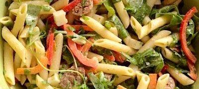 Salata de paste si verdeturi