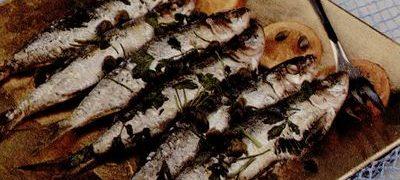 Sardine prajite cu midii
