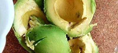 Guacamole cu tortillas