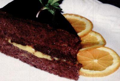 Tort de ciocolata cu portocale