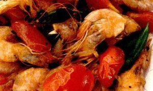 Stir-fry cu fructe de mare