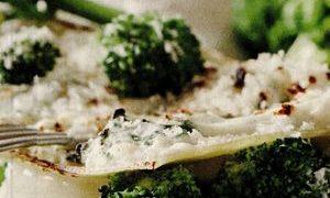 Lasagna vegetariana cu tofu