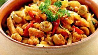 Mancare de gulii cu telina si ciuperci