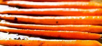 Morcovi glazurati in miere