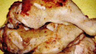 Pulpe de pui cu vermut