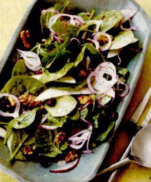 Salată cu fructe si carne de vită