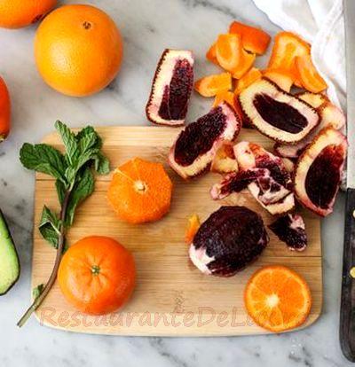 Salata de portocale si fenicul