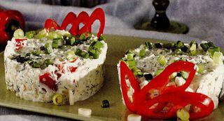 Salata de orez cu branza si iaurt