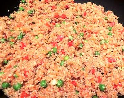 Salata de quinoa cu tofu prajit
