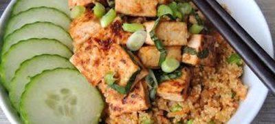 Salata de quinoa cu tofu