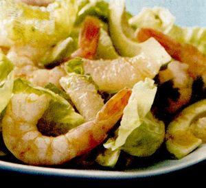 Salata mexicana cu creveti
