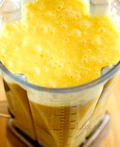 Lapte cu portocale