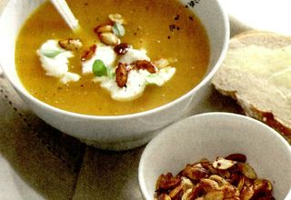 Supa de dovleac cu seminte