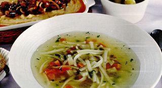 Supa simpla de fasole uscata