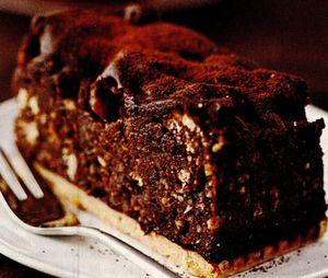 Tort negru cu cacao şi cafea