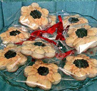 Biscuiti in forma de floare