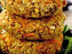 Burger din cereale la grătar