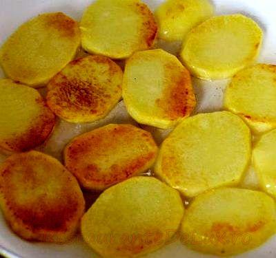Gratin de cartofi cu parmezan