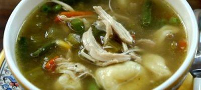 Thai vermicelli soup