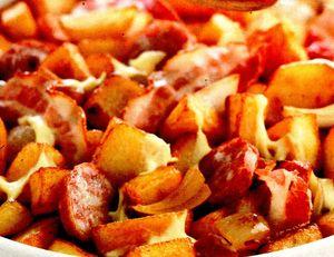 Carnati cu cartofi gratinati