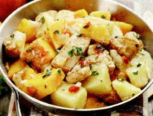 Carne de porc cu cartofi
