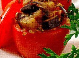 Rosii umplute cu oua si cascaval