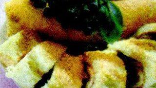 Rulada cu prune uscate si muschi file