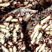Salam de biscuiti cu cacaosi rom
