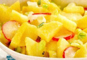 Salată de cartofi cu ridichi