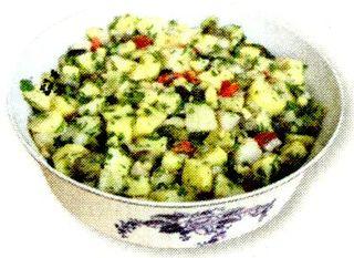 Salata orientala cu verdeata