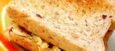 Sandwich cu branza de vaci
