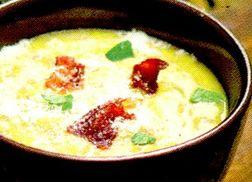 Supa de cartofi cu verdeata