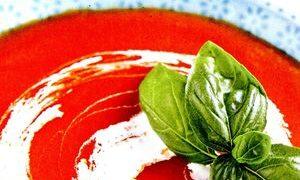 Supa de rosii cu oregano