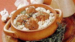 Chiftele de peste cu orez