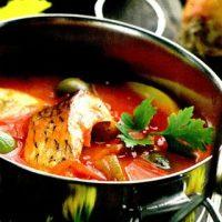 Ciorba de peste cu curry