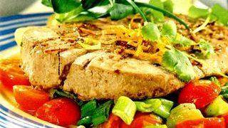 Cotlete de porc cu legume
