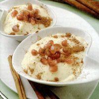 Crema de vanilie cu rodie