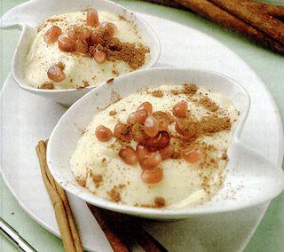 Crema de vanilie cu zmeura