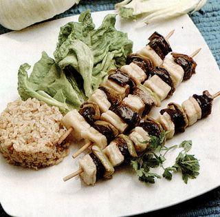 Frigarui de carne cu orez