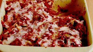 Lasagna in foi de tortilla