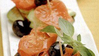 Pachetele de legume cu sos