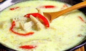 Ciorba de burta cu ardei gras