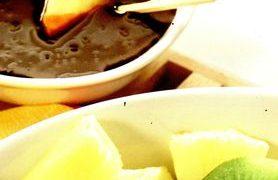 Fondue de fructe