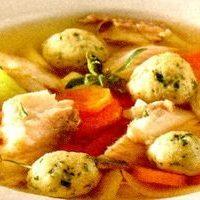 Supa cu galuste din gris