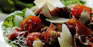 Salata cu jambon si trufe