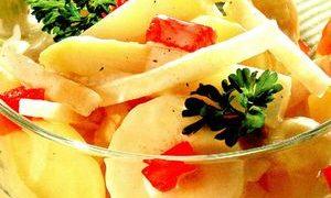 Salata de mere si banane