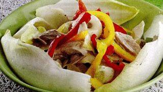 Salata gustoasa de andive cu zeama de lamaie