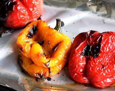 Salată de ardei copţi